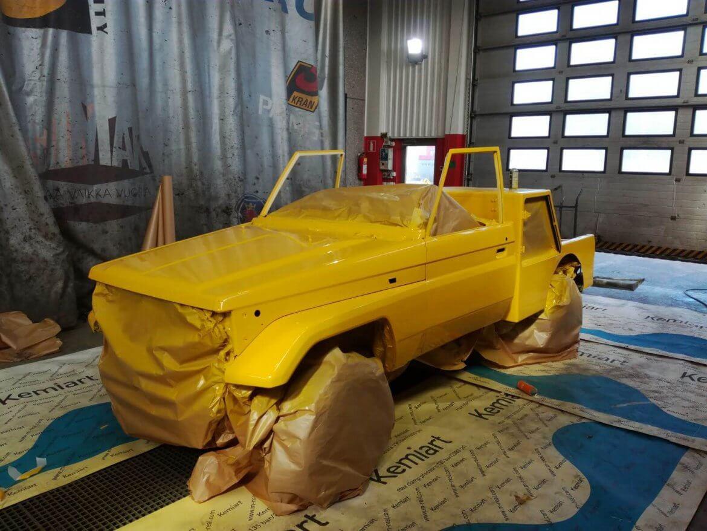 Hinausauto Toyota Landcruiser